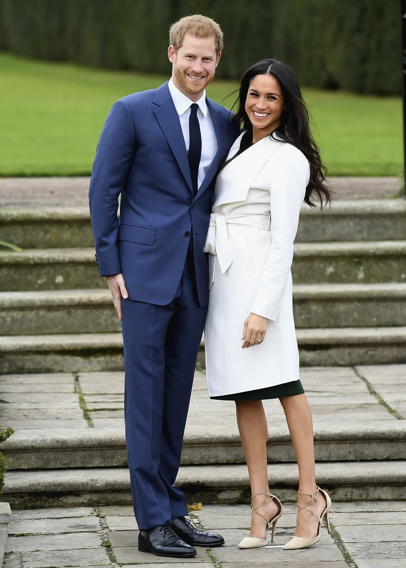 Princess Eugenie's Aquazzura Heels Are the Same Ones Meghan Markle Wore for Her Engagement Announcement 1