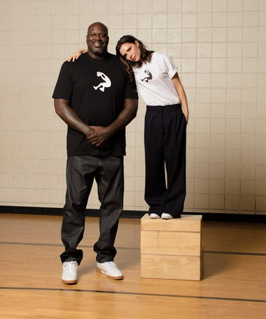 Victoria Beckham's Reebok Merch Collection is a Stylish Slam Dunk Inspired by Shaq 1