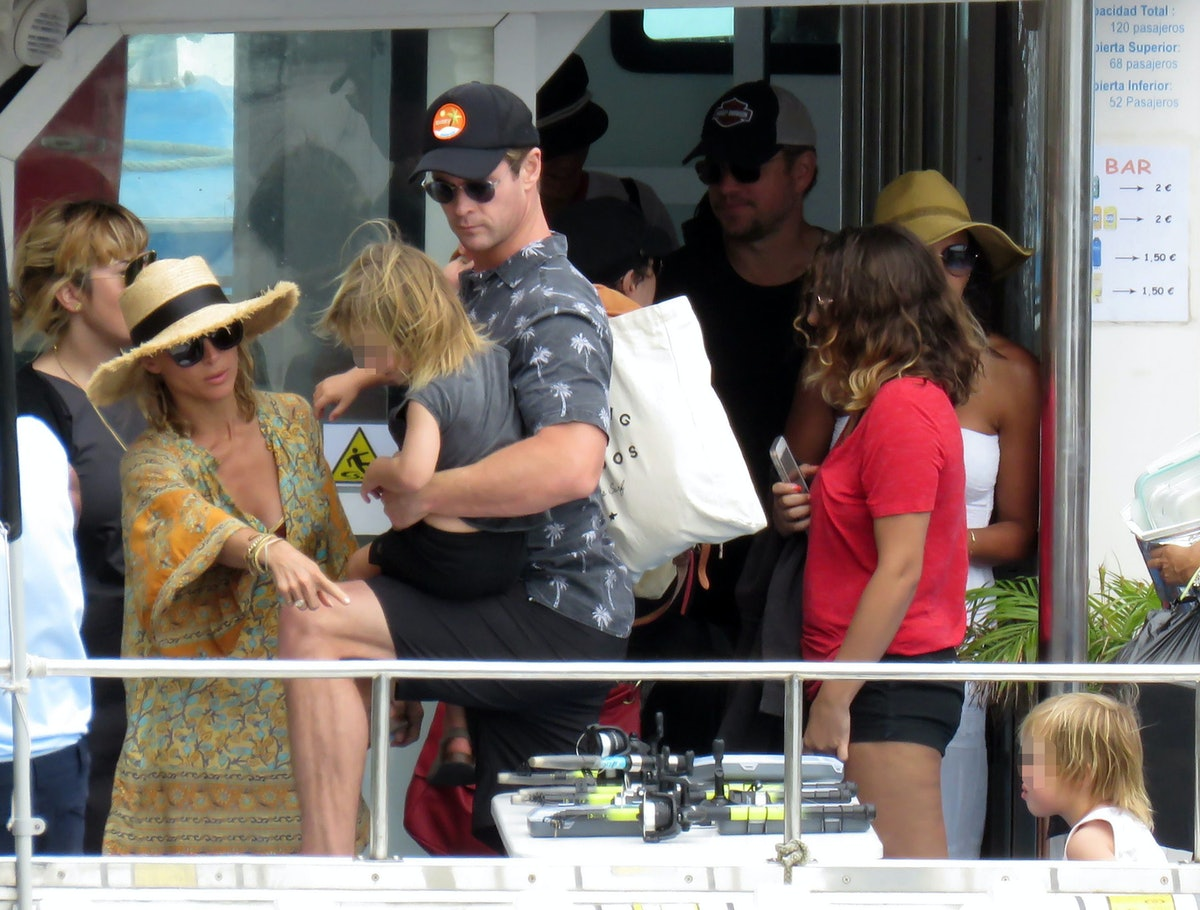 Celebrities Sighting In San Sebastian - July 19, 2018