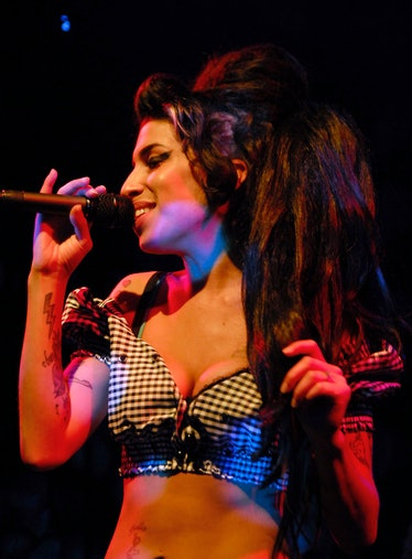 Amy Winehouse Performs At The Highline Ballroom