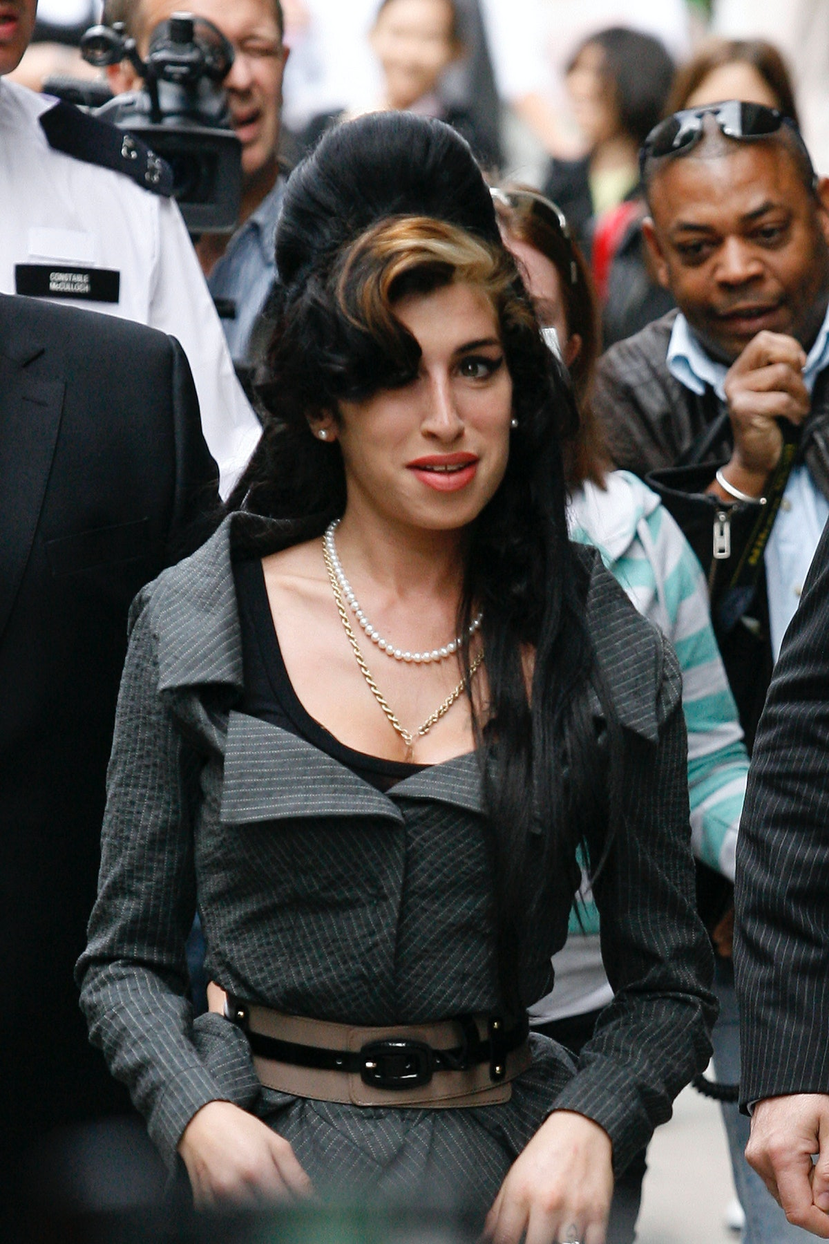Amy Winehouse Attends Court Charged With Assault