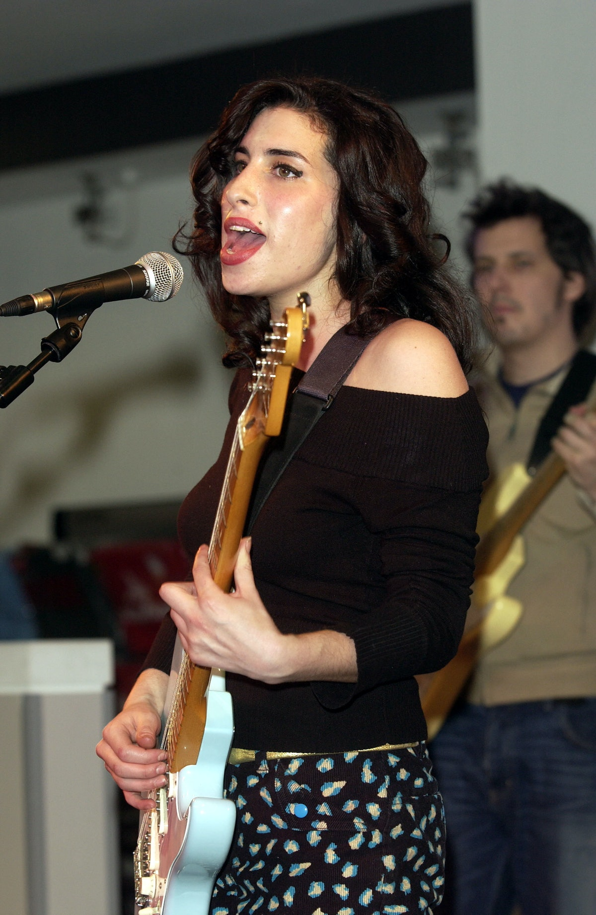 London, Uk - Jazz Singer Amy Winehouse Who Has Been Nominated For A Brit Award Perfomed Live At The ...