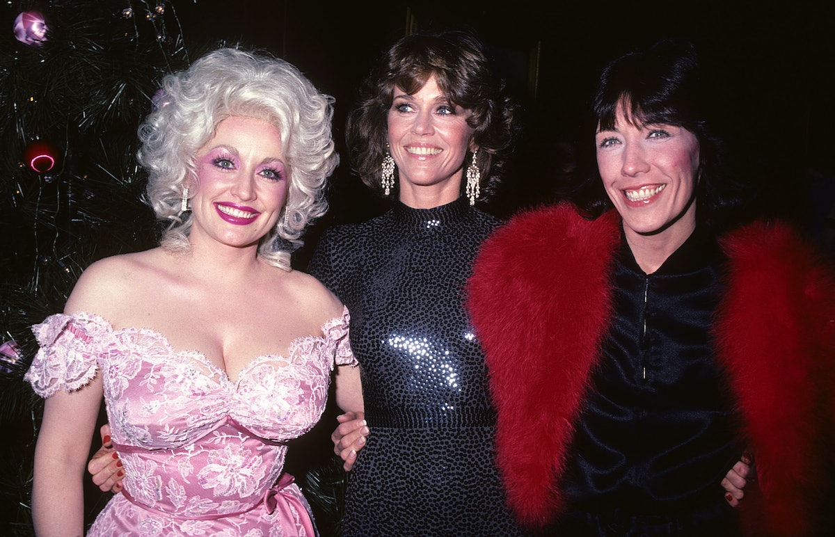 Dolly Parton at film premiere of Nine to Five