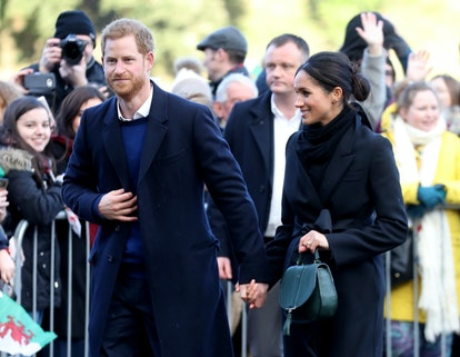 """Prince Harry Retreats From Spotlight in Fear There's """"Too Much Hysteria"""" Over Meghan Markle"""