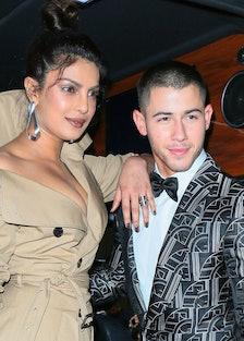 Priyanka Chopra and Nick Jonas dancing concert