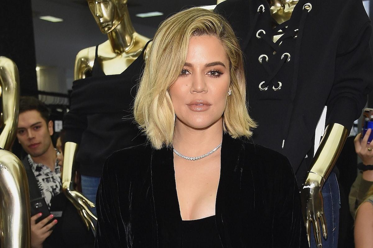 Khloe Kardashian lips