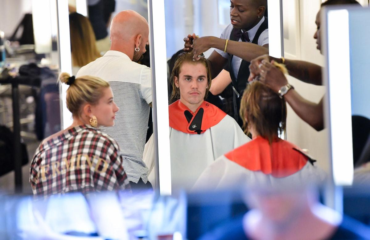 justin bieber haircut LEAD