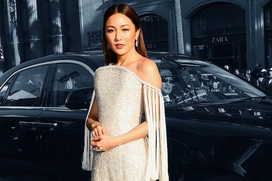 Constance Wu's 'Crazy Rich Asians Premiere' Dress Had 90 Carats of Diamonds lead