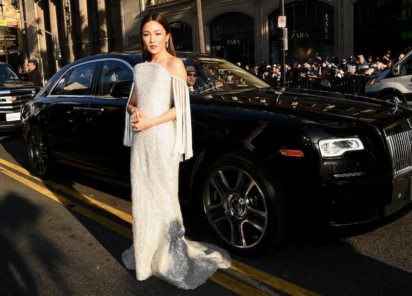 Constance Wu's 'Crazy Rich Asians Premiere' Dress Had 90 Carats of Diamonds 3