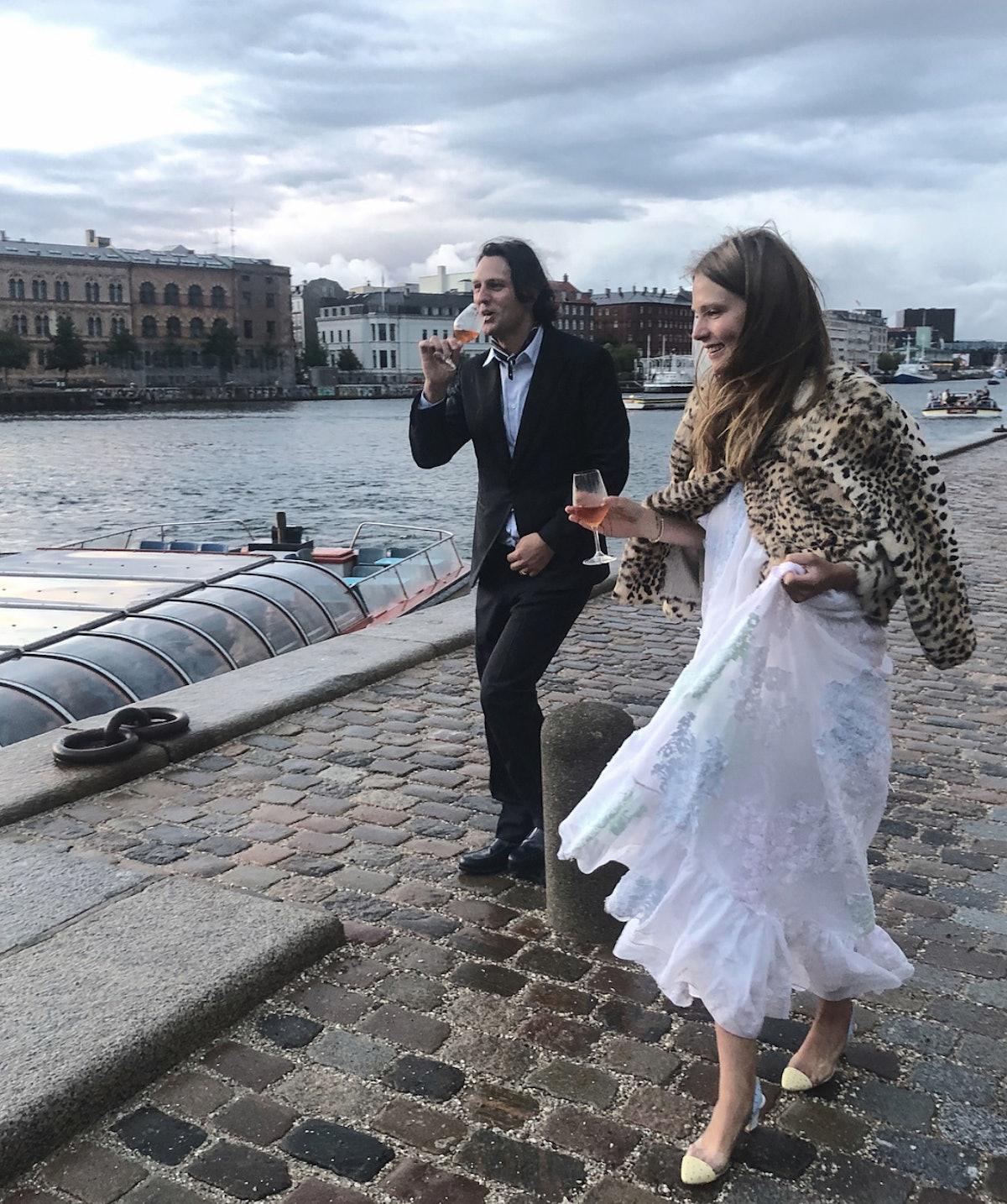 Caroline Brasch Nielsen wedding