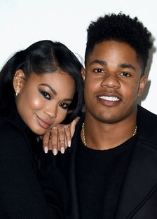 Chanel Iman and Sterling Shepard Welcome Daughter Cali Clay lead