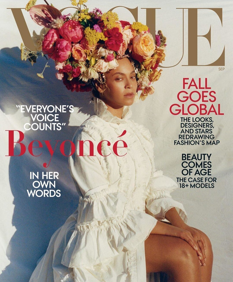 Beyoncé's September Issue Cover Shoot Behind The Scenes Features Her Kids 1