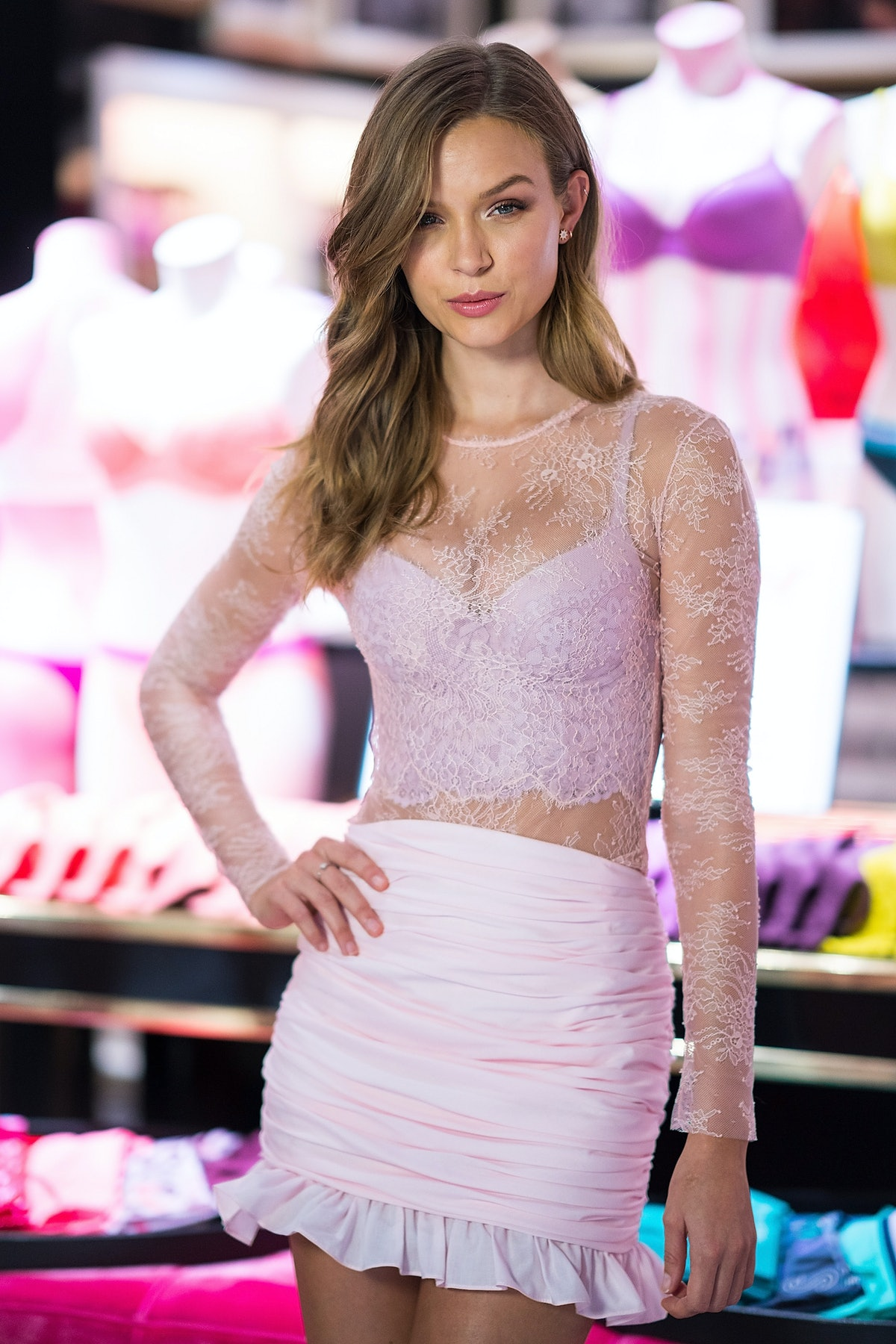 Josephine Skriver Launches Body By Victoria Collection