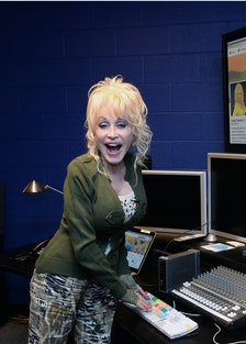 QVC Presents A Night In Nashville With Dolly Parton - Rehearsals