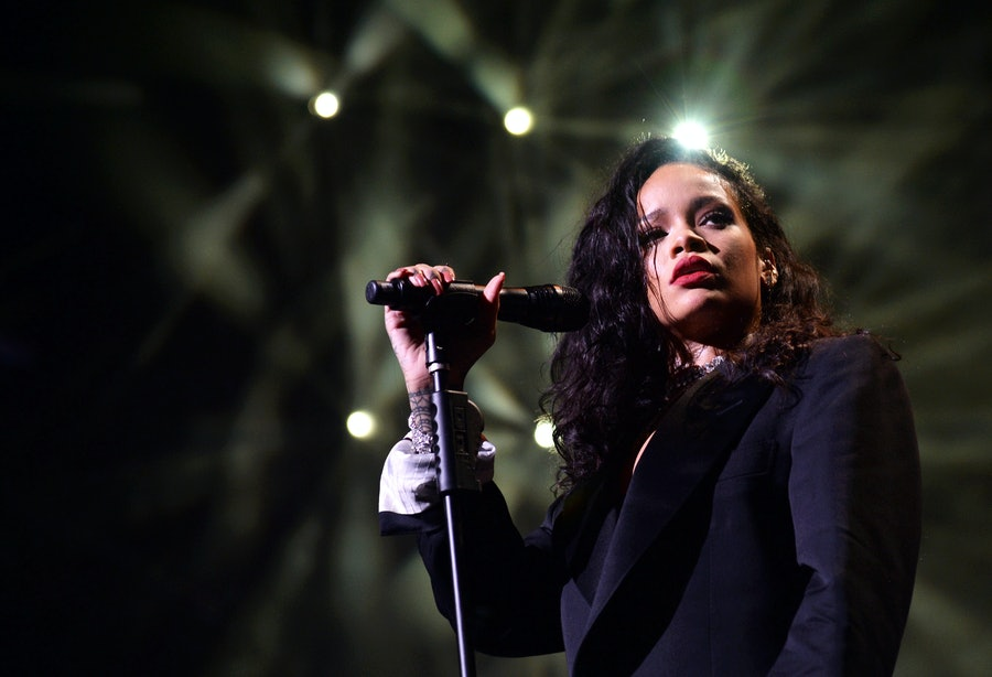 Rihanna Is Working on a New Album lead