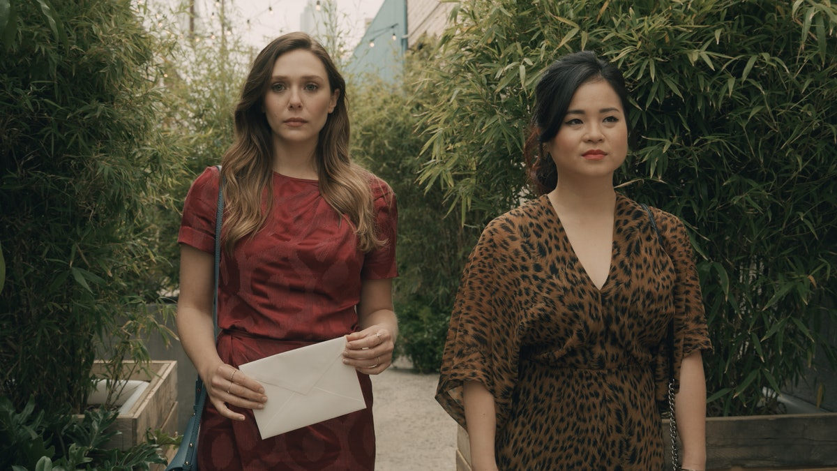 Elizabeth Olsen Tangles With Grief Along Side Kelly Marie Tran In 'Sorry for Your Loss' 1