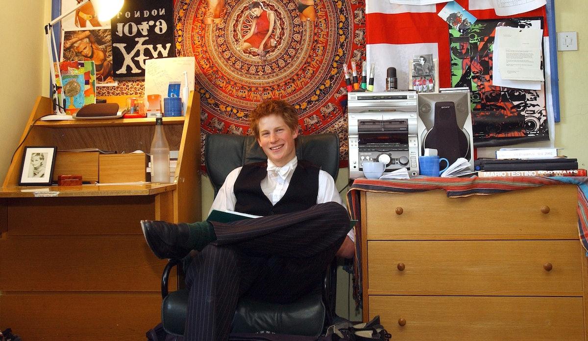 Prince Harry Eton Bedroom lead 1
