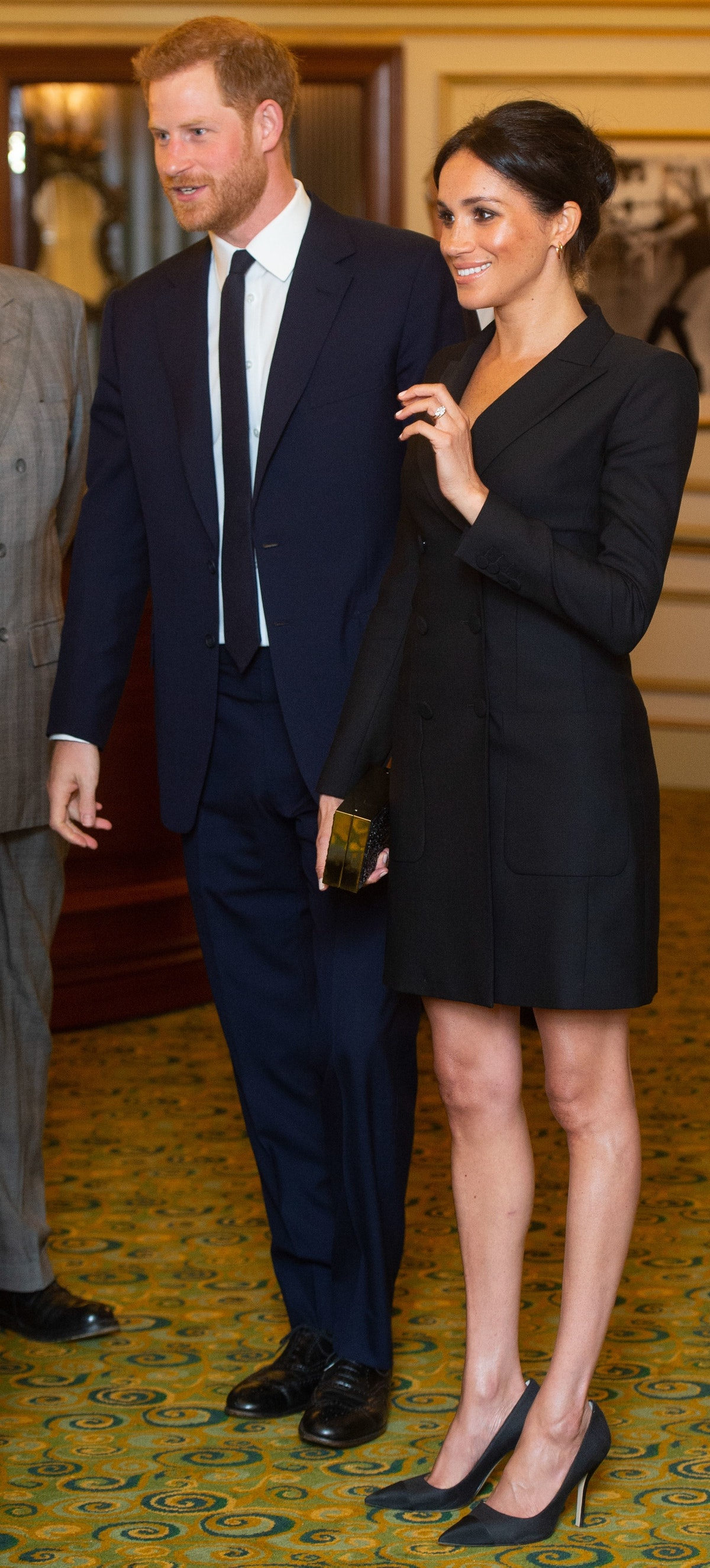 BRITAIN-US-ROYALS-THEATRE-CHARITY