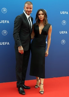 David and Victoria Beckham Did Their First Red Carpet Appearance Together in Almost 3 Years lead