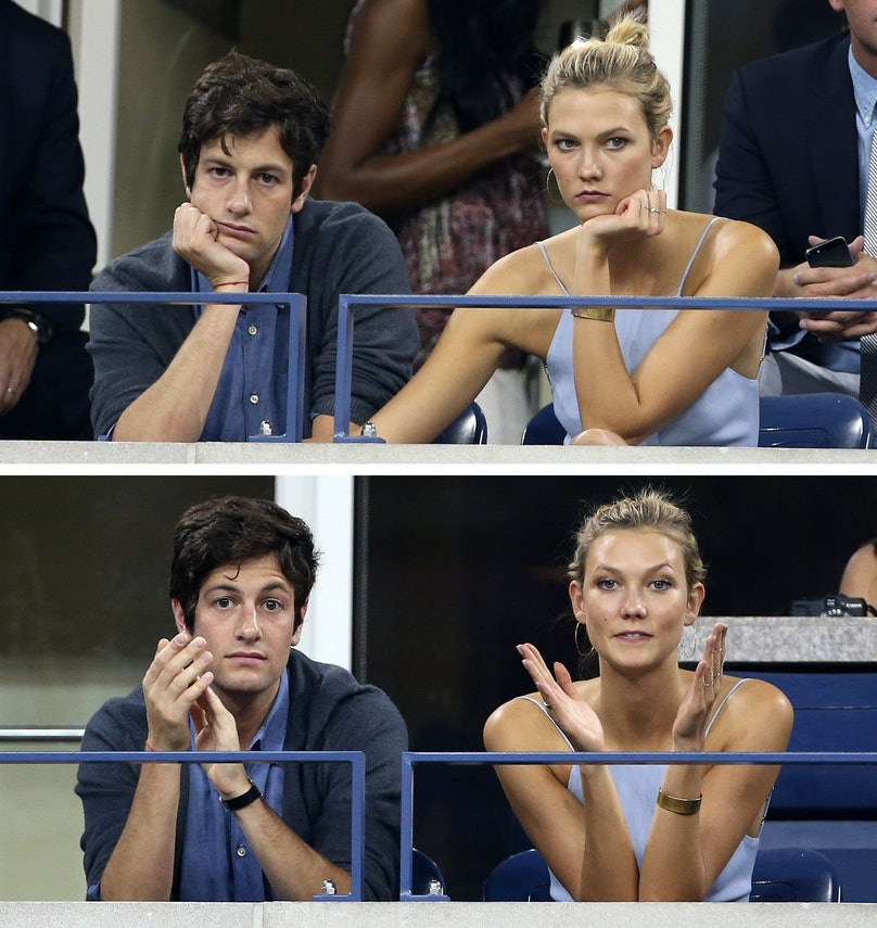 2014 US Open Celebrity Sightings - Day 1