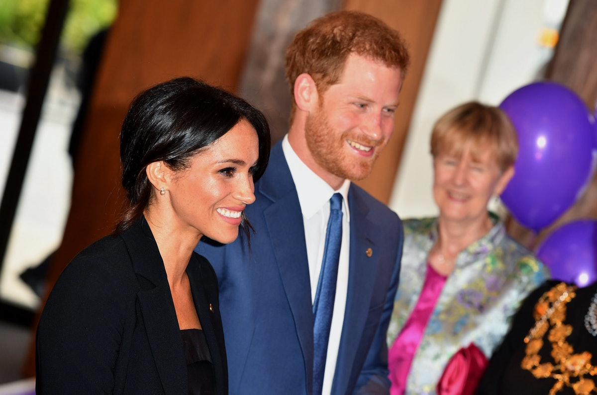 Prince Harry and Meghan Markle at London's WellChild Awards lead