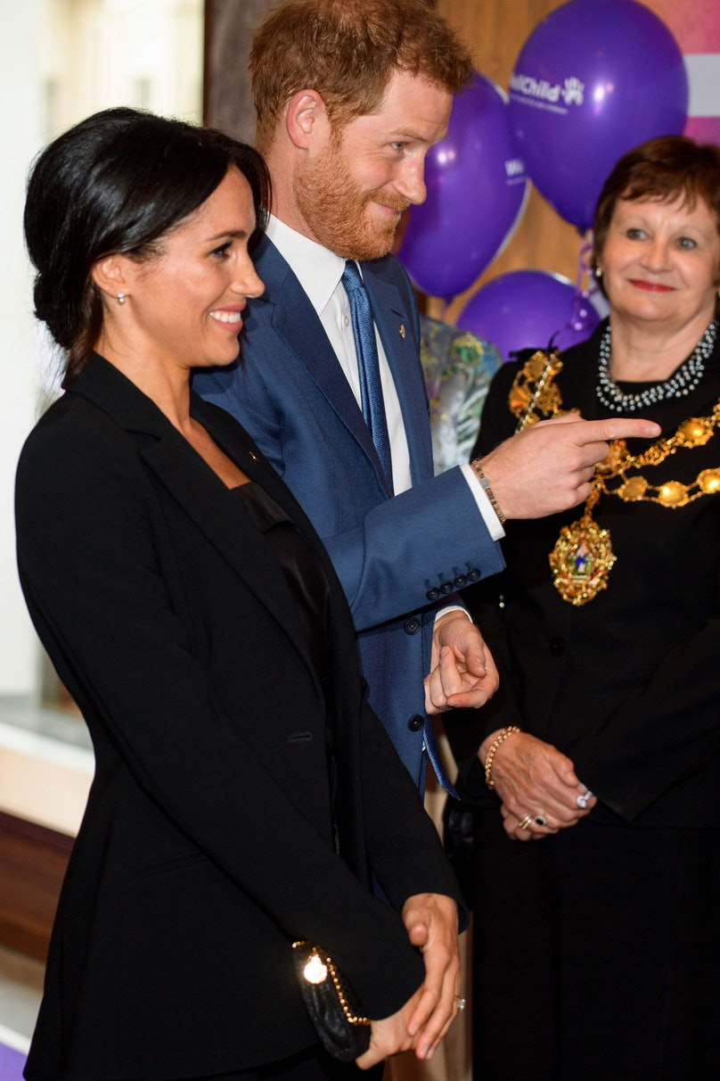 Prince Harry and Meghan Markle at London's WellChild Awards 1