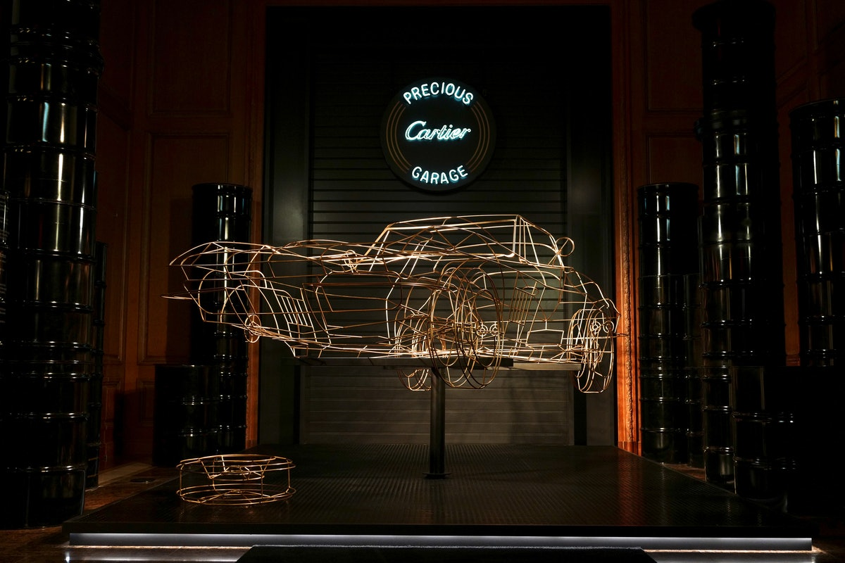 Cartier Precious Garage: Inside