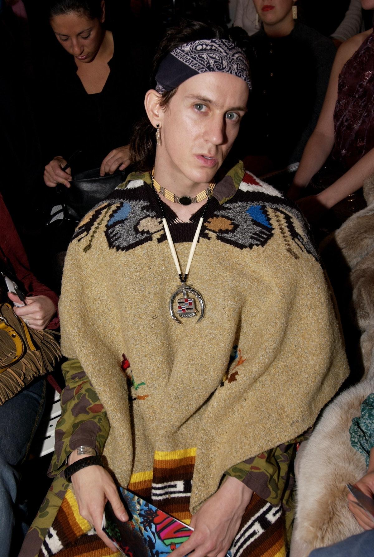 Mercedes-Benz Fashion Week - Diane von Furstenberg 2002 Fall Collection