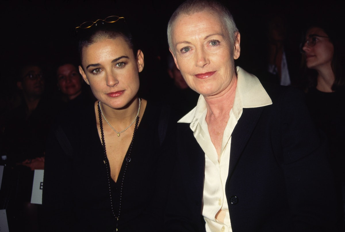 Demi Moore And Liz Tilberis Take In Some Fashion