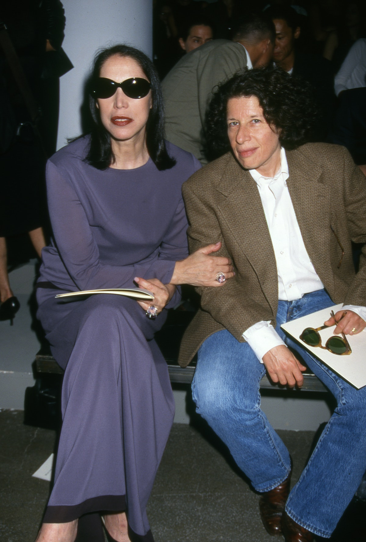 Fran Lebowitz And Marina Schiano