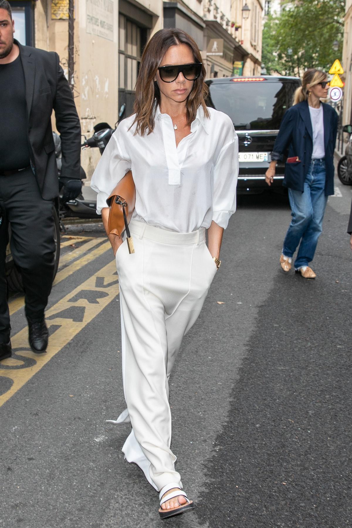 Celebrity Sightings In Paris - July 5, 2018