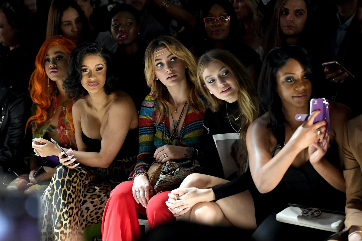Jeremy Scott - Front Row - September 2018 - New York Fashion Week: The Shows