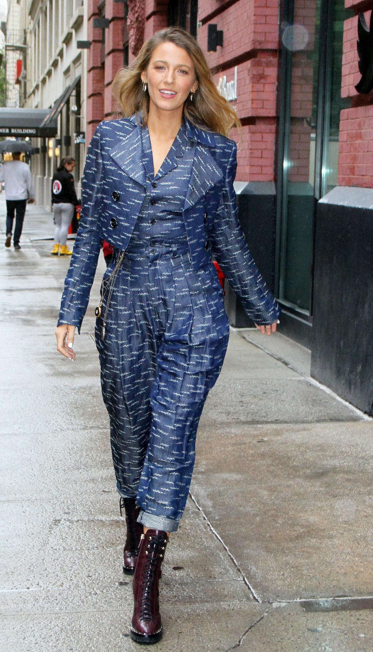 Blake Lively Wore a 5 Looks In One Day 2