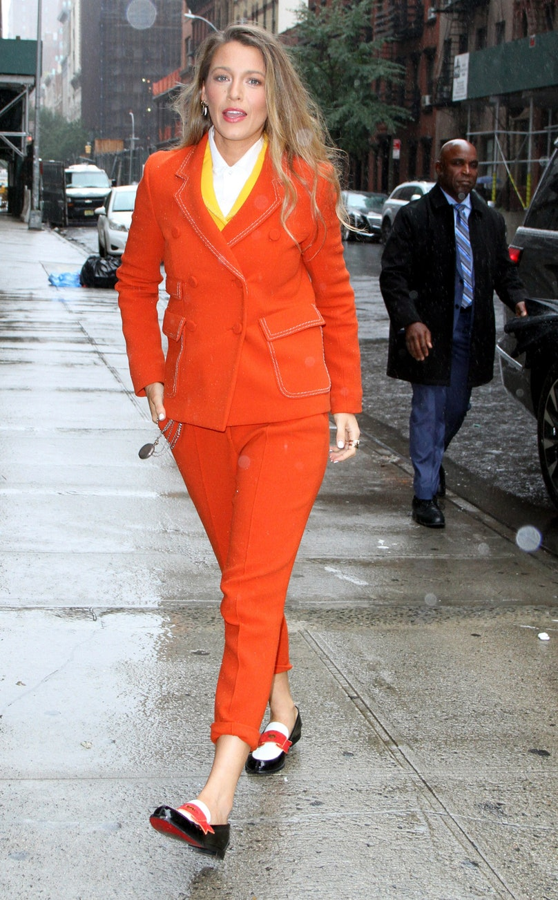 Blake Lively Wore a 5 Looks In One Day 3