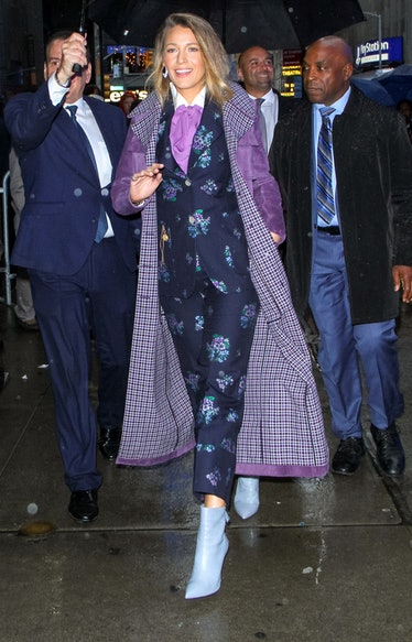 Blake Lively Wore a 5 Looks In One Day 4