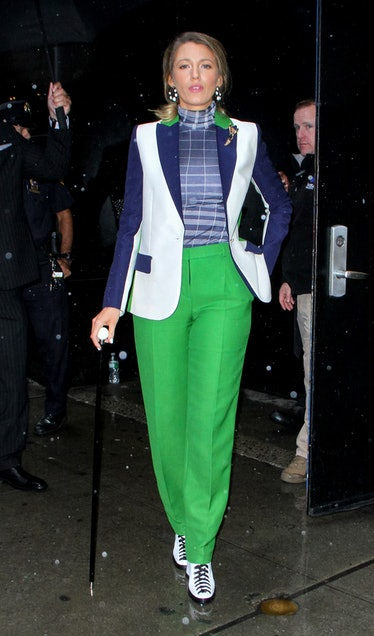 Blake Lively Wore a 5 Looks In One Day 5