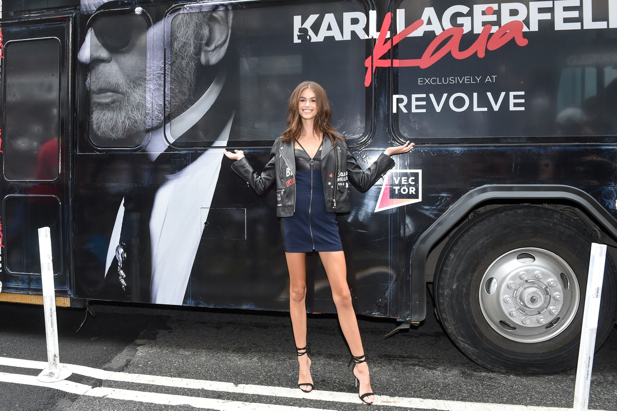 KARL LAGERFELD x KAIA NY Launch with REVOLVE : hosted by Kaia Gerber