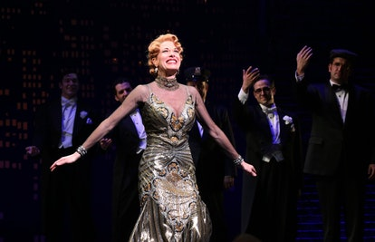 """""""Bullets Over Broadway"""" Opening Night Celebration - Arrivals And Curtain Call"""