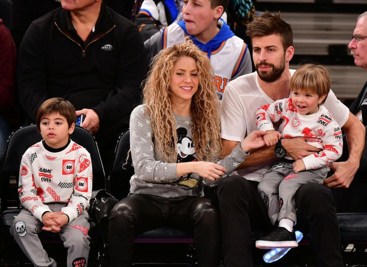 Celebrities Attend The New York Knicks Vs Philadelphia 76ers Game
