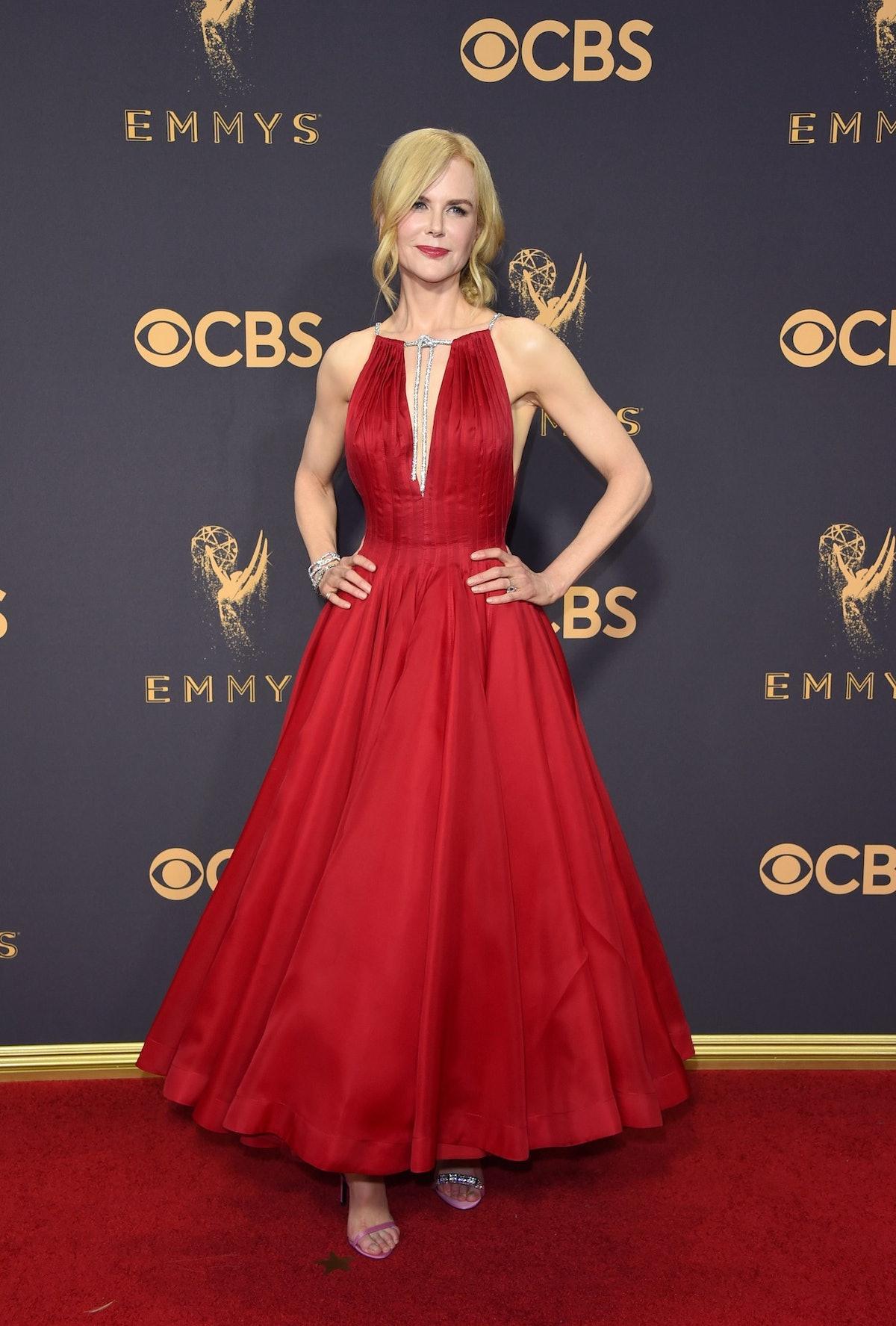 Nicole Kidman red dress Emmys