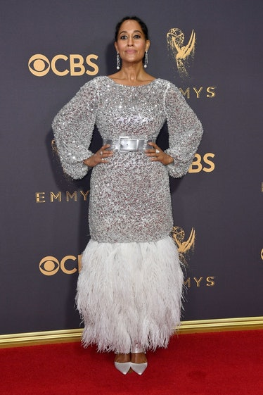 Tracee Ellis Ross silver dress Emmys