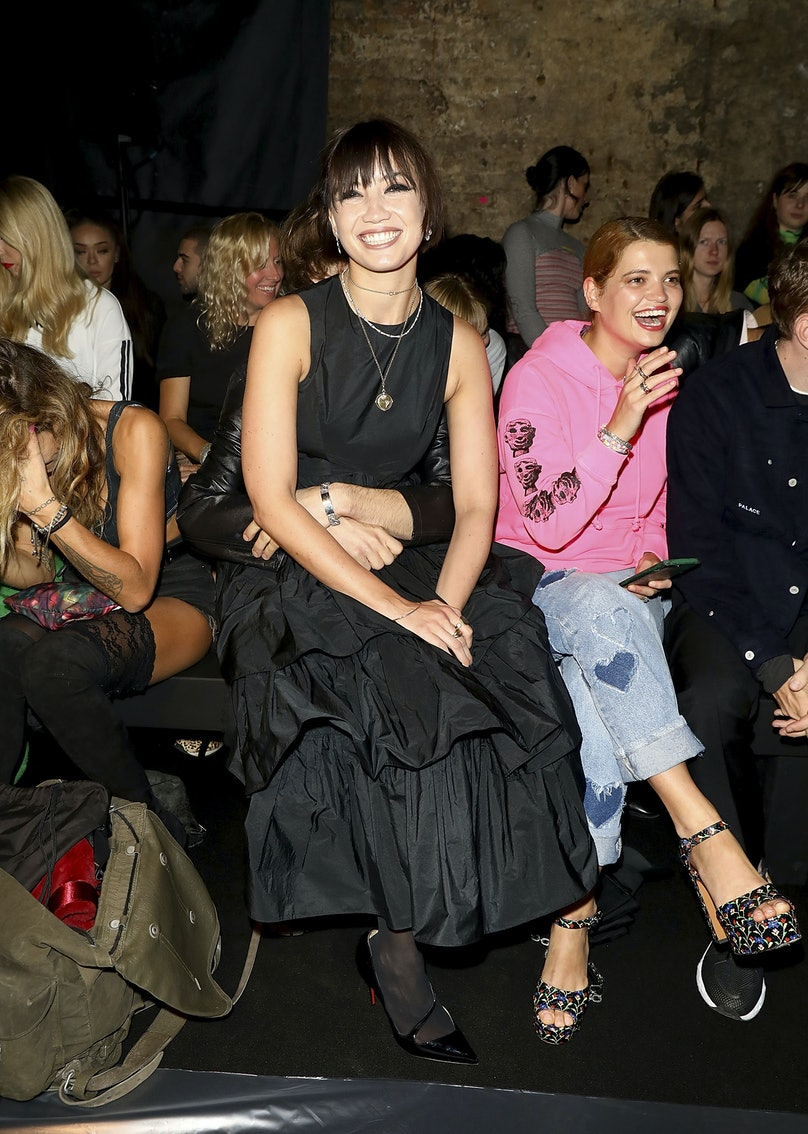 Ashley Williams - Front Row - LFW September 2018