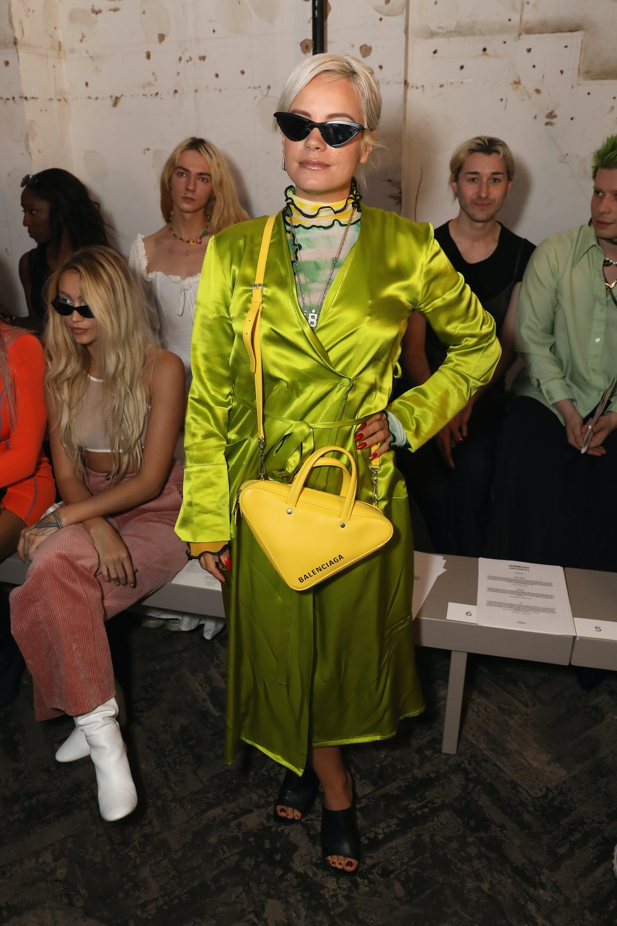 Fashion East - Front Row - LFW September 2018