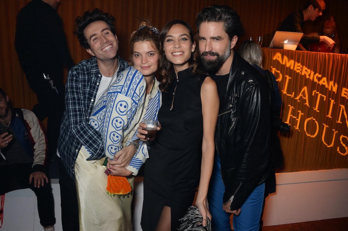 Alexa Chung London Fashion Week After Party