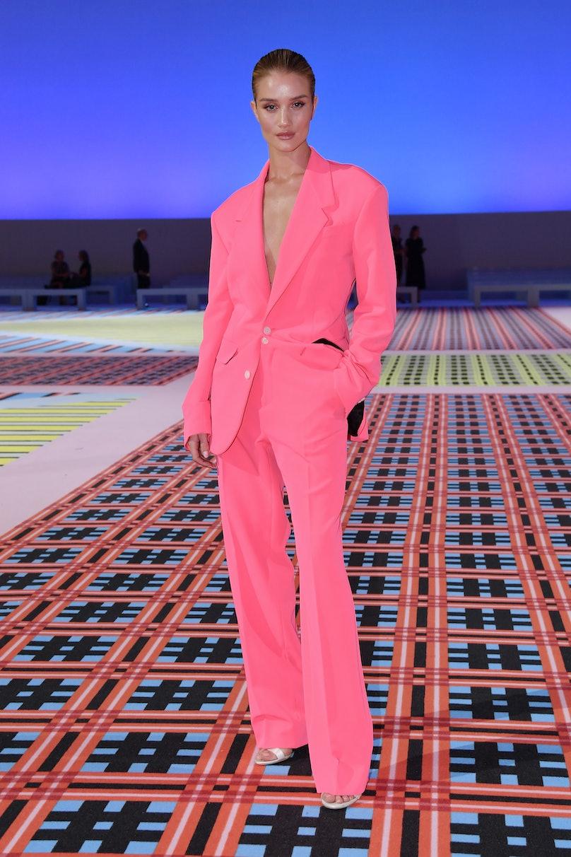Versace - Front Row - Milan Fashion Week Spring/Summer 2019