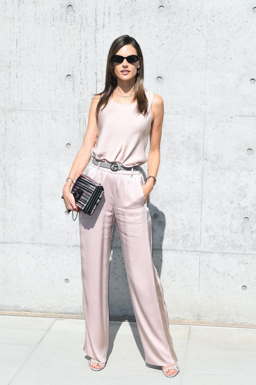 Giorgio Armani - Arrivals - Milan Fashion Week Spring/Summer 2019