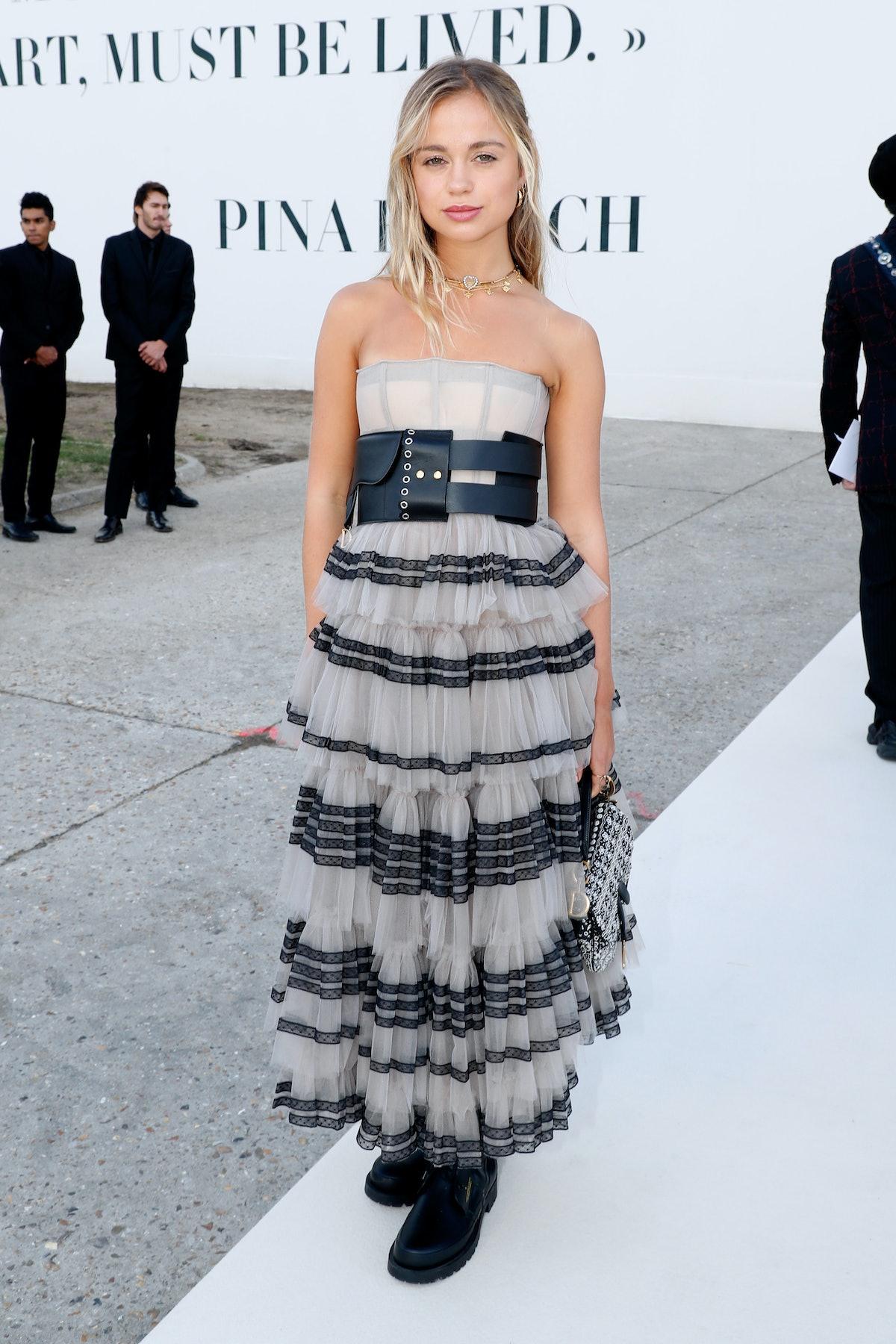 Christian Dior : Front Row - Paris Fashion Week Womenswear Spring/Summer 2019