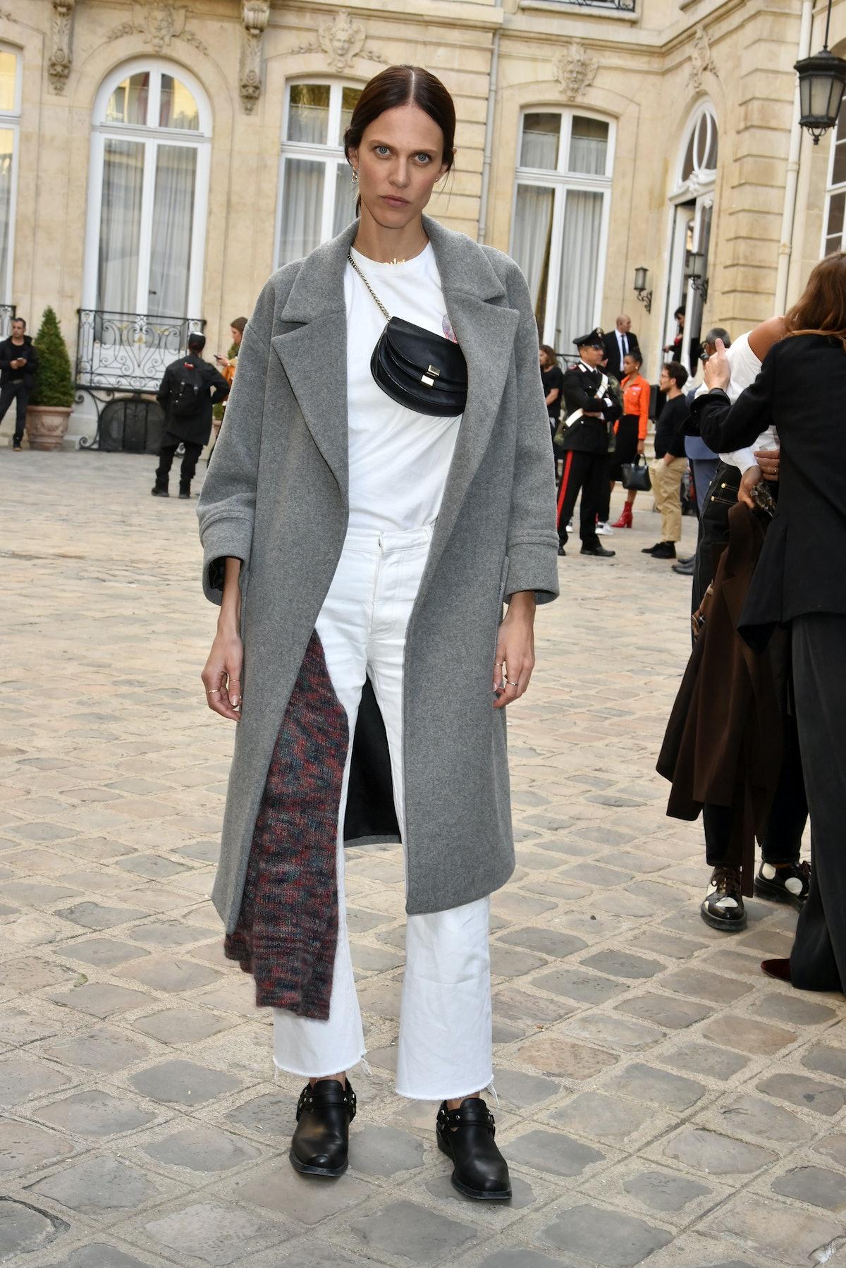 Jacquemus : Outside Arrivals - Paris Fashion Week Womenswear Spring/Summer 2019
