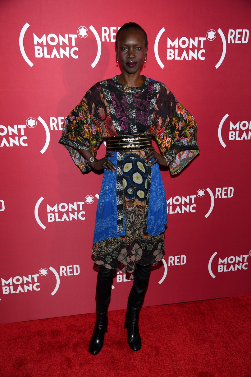 Montblanc And (RED) Launch The New (Montblanc M)RED Collection To Fight AIDS At New York's World Of McIntosh Townhouse