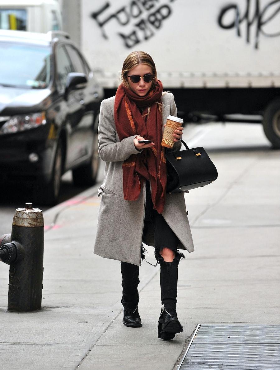 Celebrity Sightings In New York City - December 17, 2011